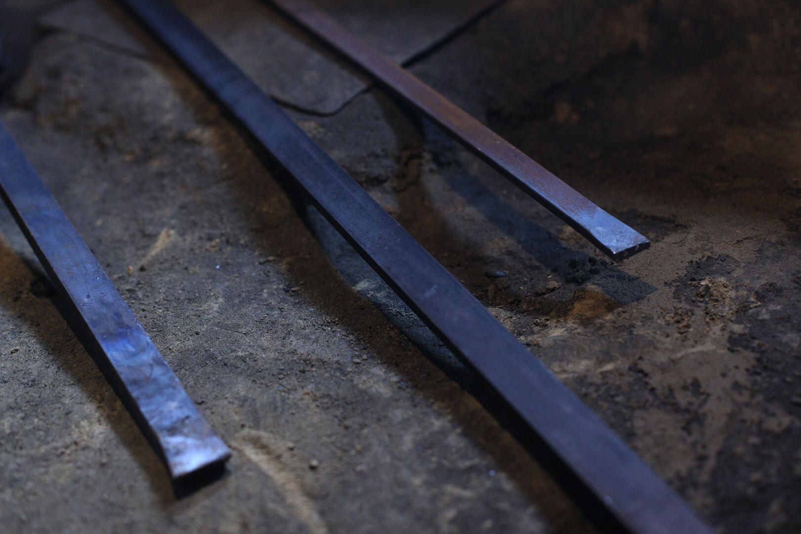 安来鋼 包丁の鋼材